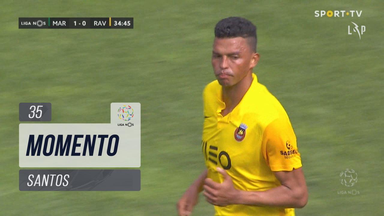 Rio Ave FC, Jogada, Santos aos 35'