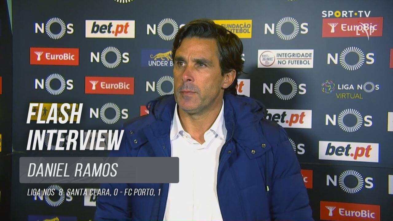 """Daniel Ramos: """"Foi um jogo equilibrado"""""""