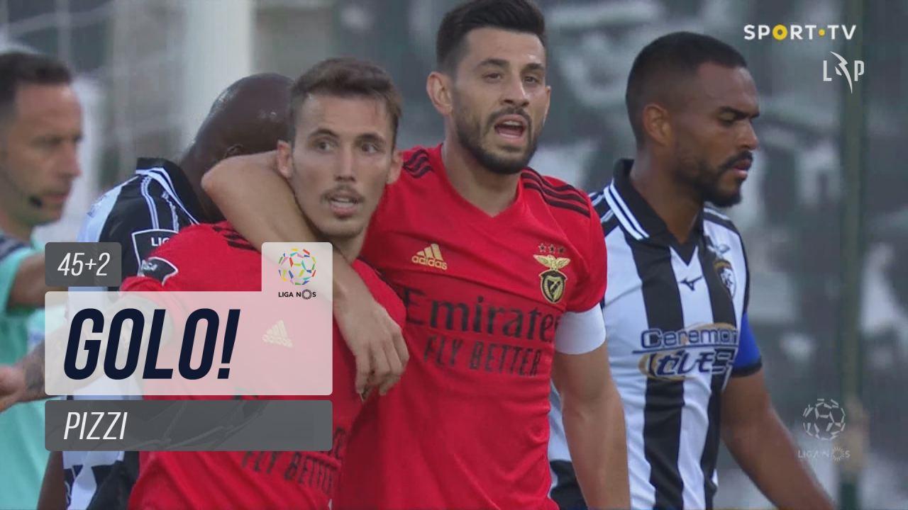 GOLO! SL Benfica, Pizzi aos 45'+2', Portimonense 1...