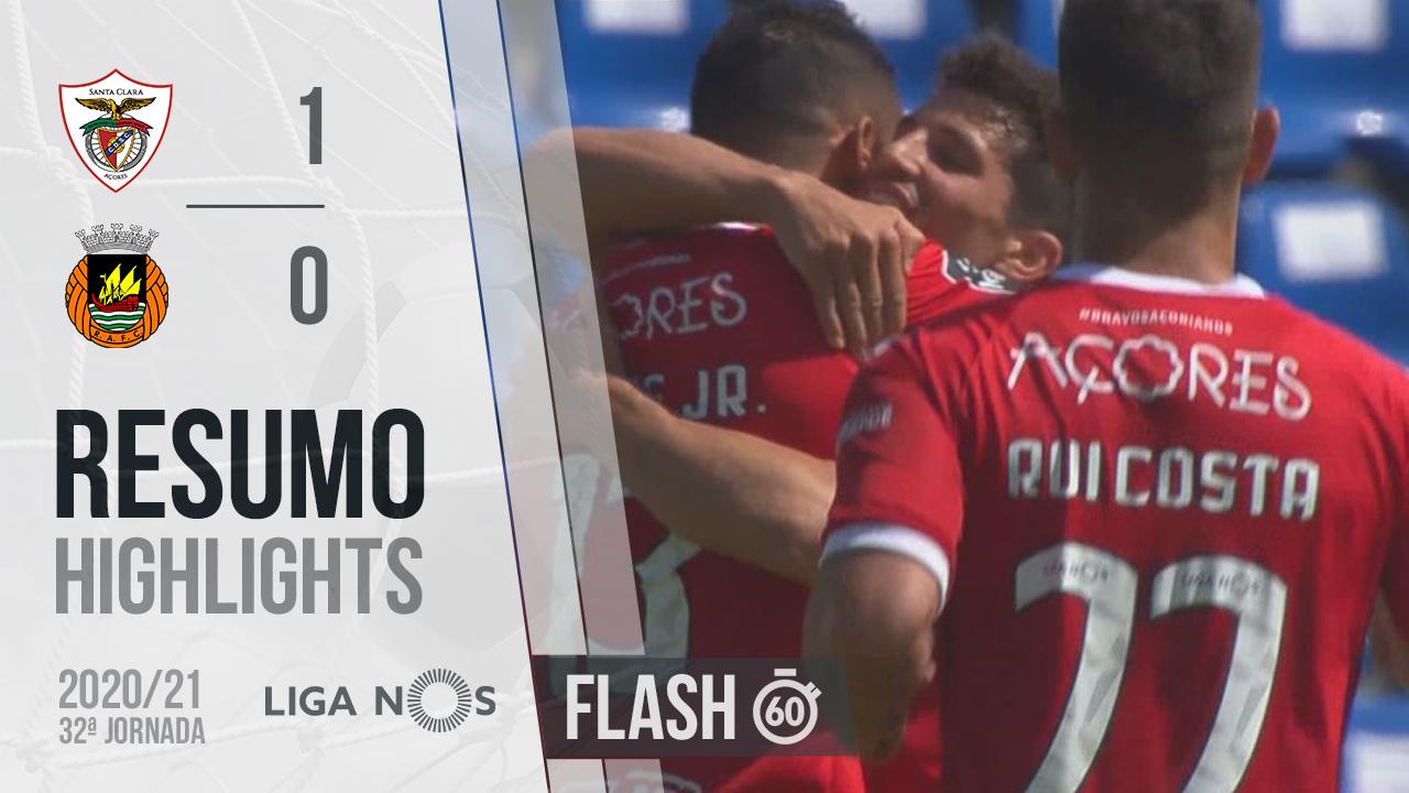 I Liga (32ªJ): Resumo Flash Santa Clara - Rio Ave FC