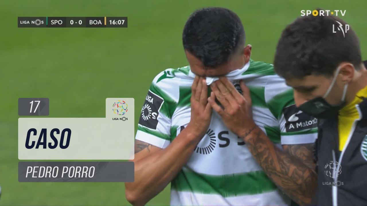 Sporting CP, Caso, Pedro Porro aos 17'