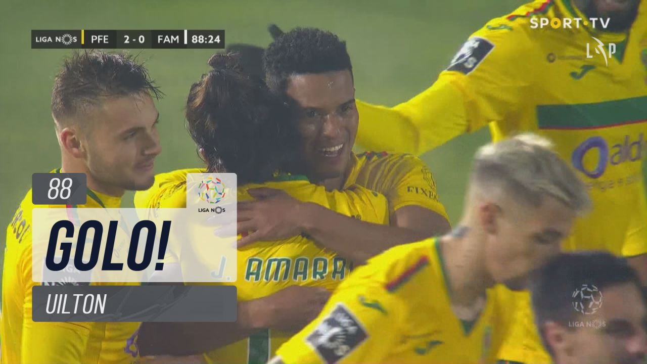 GOLO! FC P.Ferreira, Uilton aos 88', FC P.Ferreira...