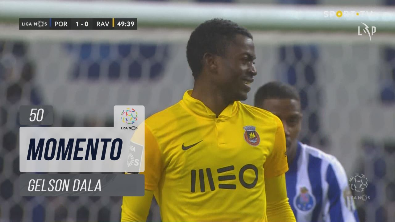 Rio Ave FC, Jogada, Gelson Dala aos 50'