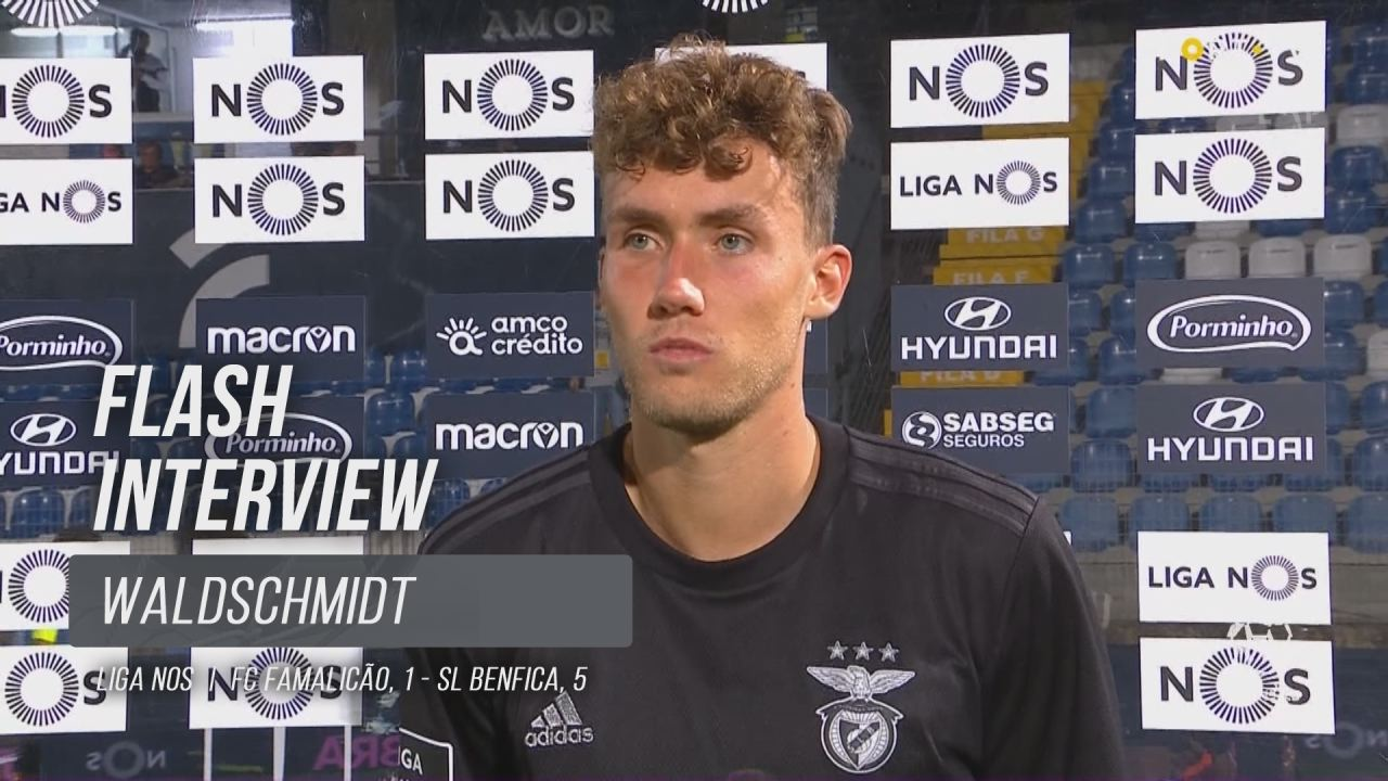 """Waldschimdt: """"Feliz por ajudar a equipa a ganhar"""""""
