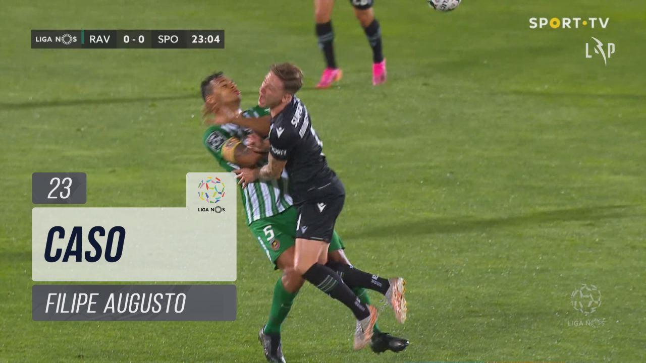 Rio Ave FC, Caso, Filipe Augusto aos 23'