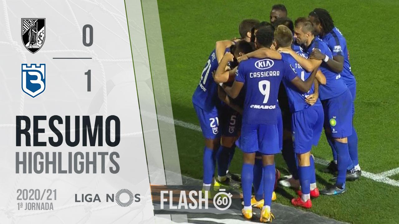 Liga NOS (1ªJ): Resumo Flash Vitória SC 0-1 Belenenses SAD