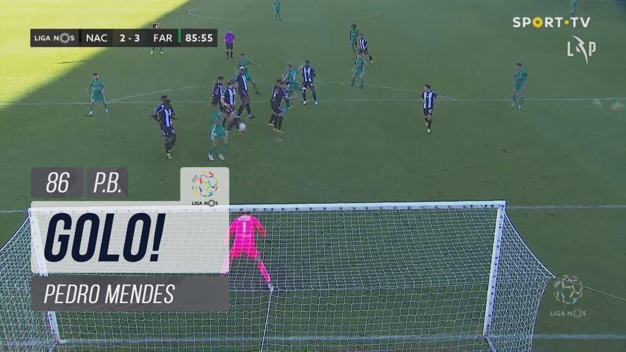 GOLO! SC Farense, Pedro Mendes (p.b.) aos 86', CD Nacional 2-3 SC Farense