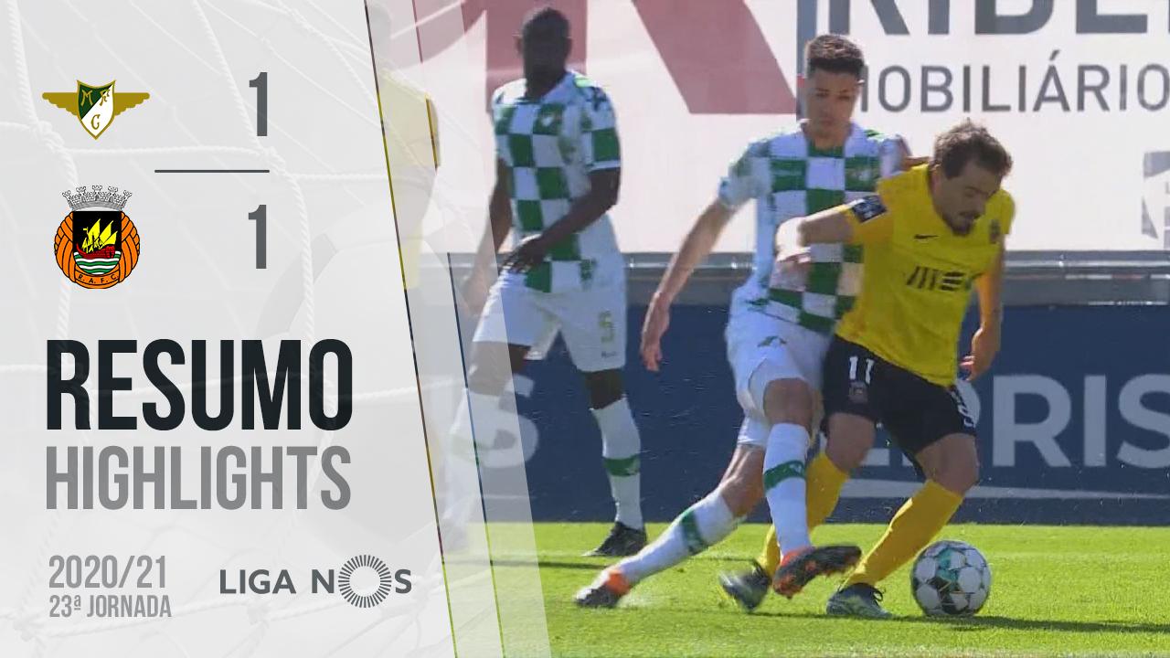 Liga NOS (23ªJ): Resumo Moreirense FC 1-1 Rio Ave FC