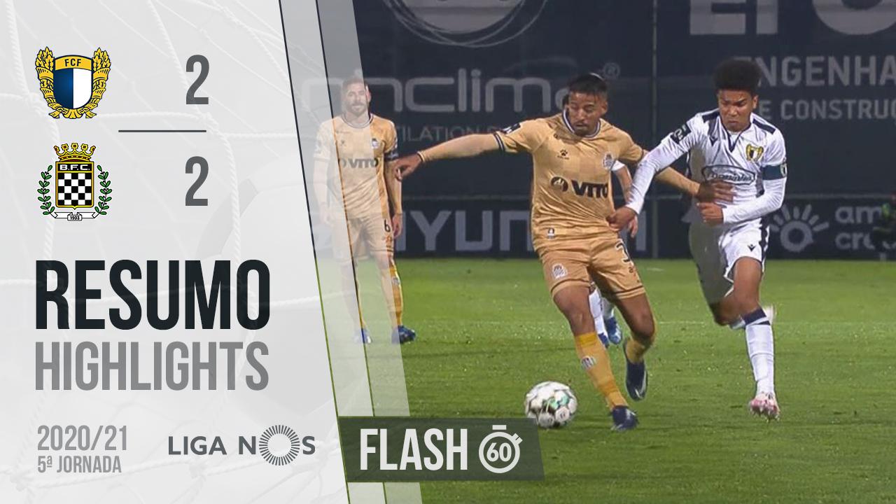 I Liga (5ªJ): Resumo Flash FC Famalicão 2-2 Boavista FC