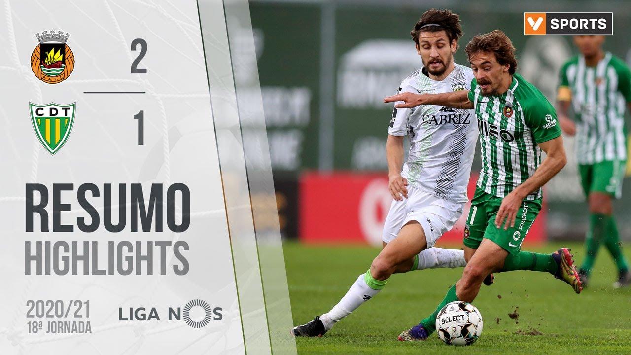 Liga NOS (18ªJ): Resumo Rio Ave FC 2-1 CD Tondela
