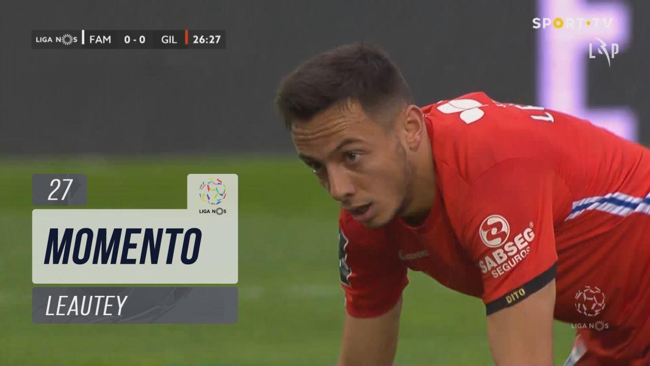 Gil Vicente FC, Jogada, Leautey aos 27'