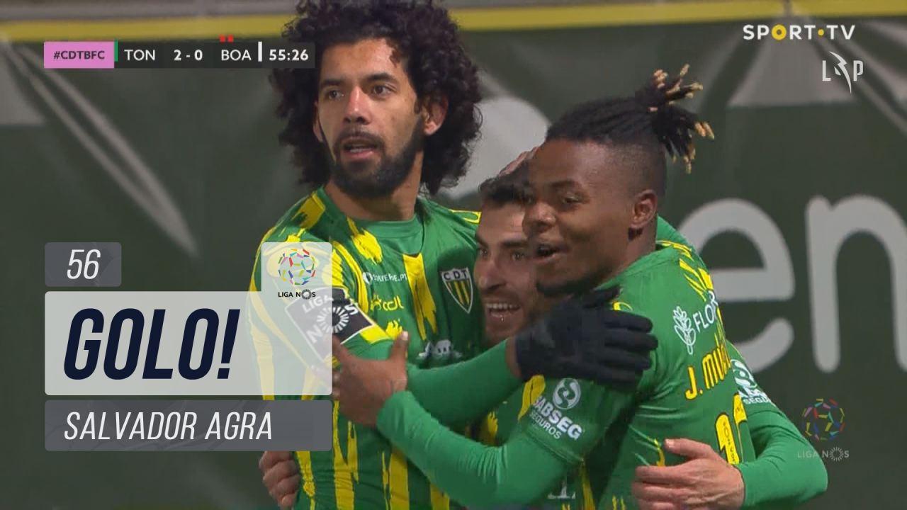 GOLO! CD Tondela, Salvador Agra aos 56', CD Tondela 2-0 Boavista FC