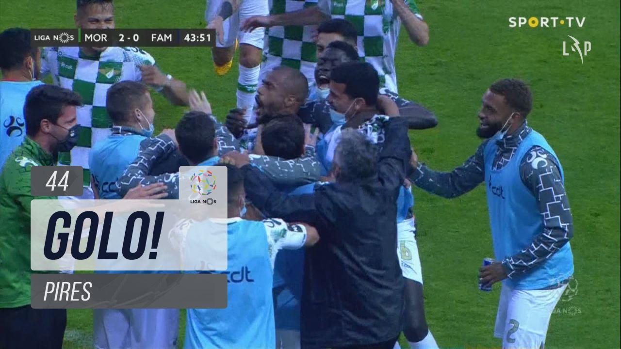GOLO! Moreirense FC, Pires aos 44', Moreirense FC 2-0 FC Famalicão