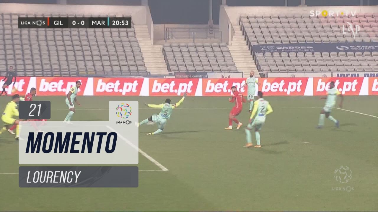 Gil Vicente FC, Jogada, Lourency aos 21'