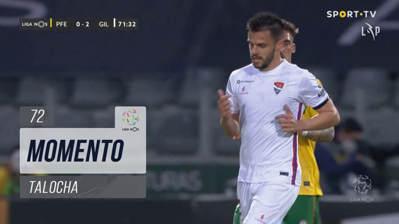 Gil Vicente FC, Jogada, Talocha aos 72'