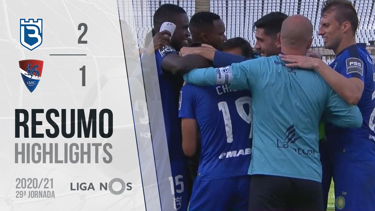 Liga NOS (29ªJ): Resumo Belenenses SAD 2-1 Gil Vicente FC