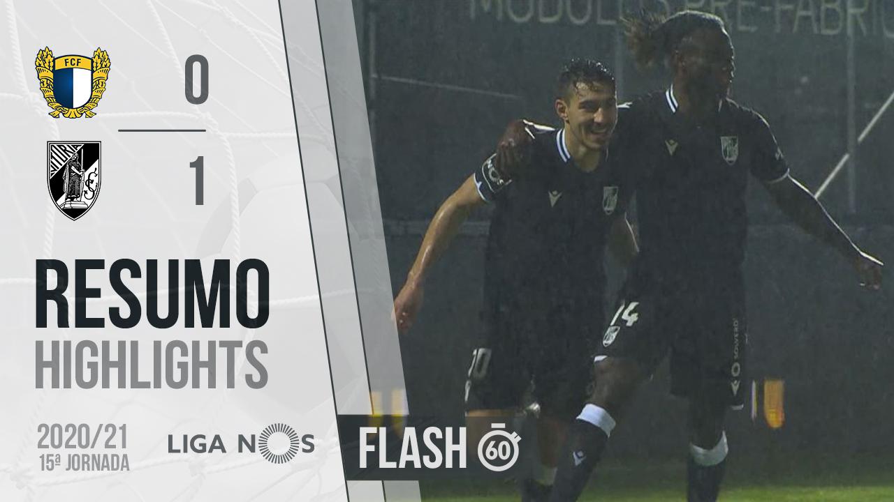 I Liga (15ªJ): Resumo Flash FC Famalicão 0-1 Vitória SC