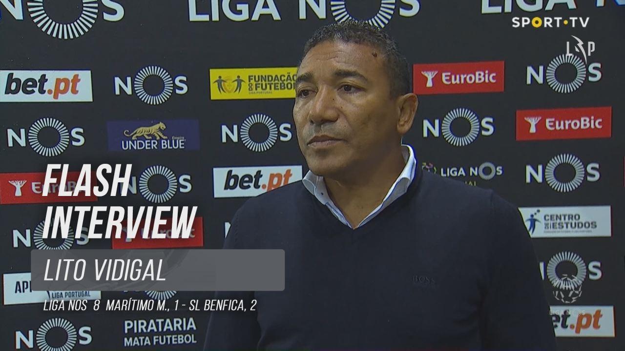 """Lito Vidigal: """"Os jogadores fizeram tudo para pontuar"""""""