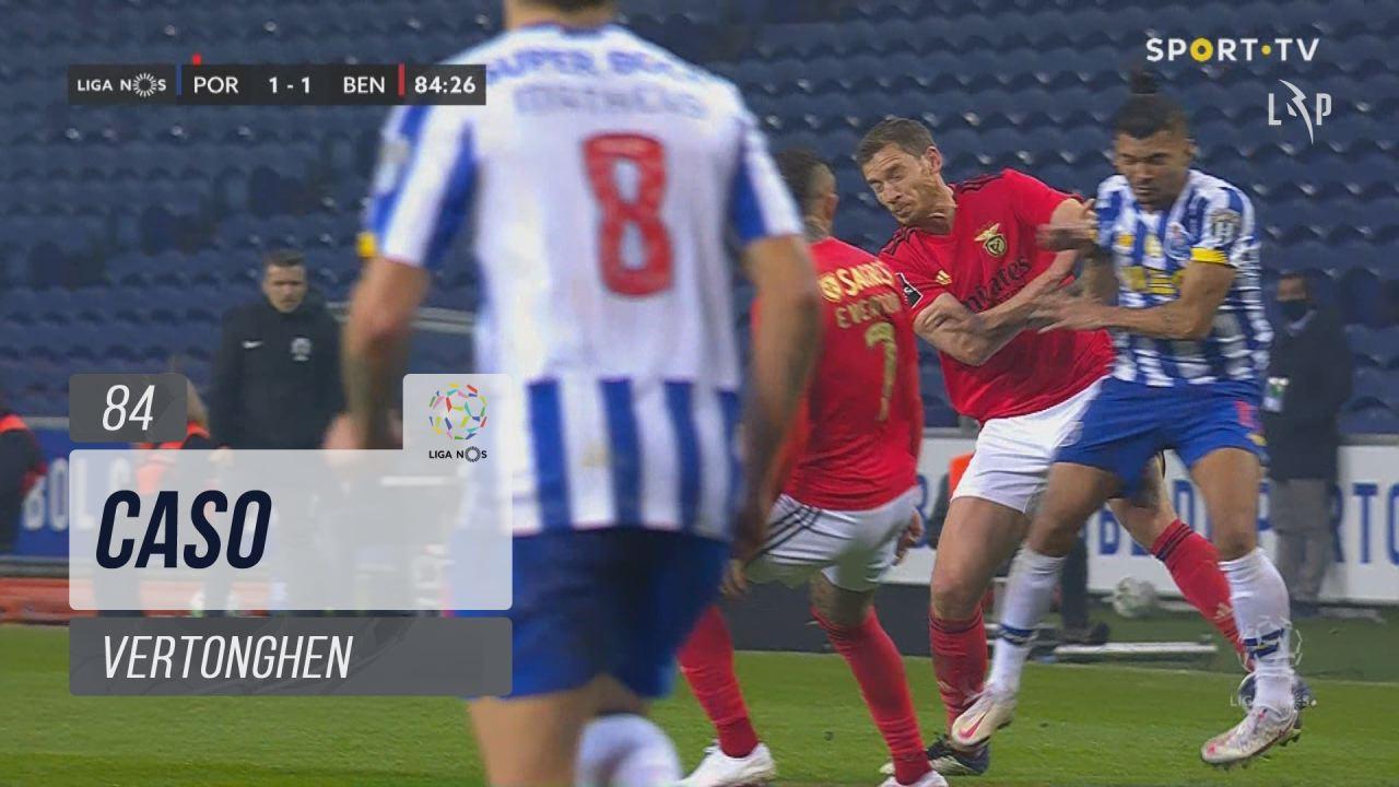 SL Benfica, Caso, Vertonghen aos 84'