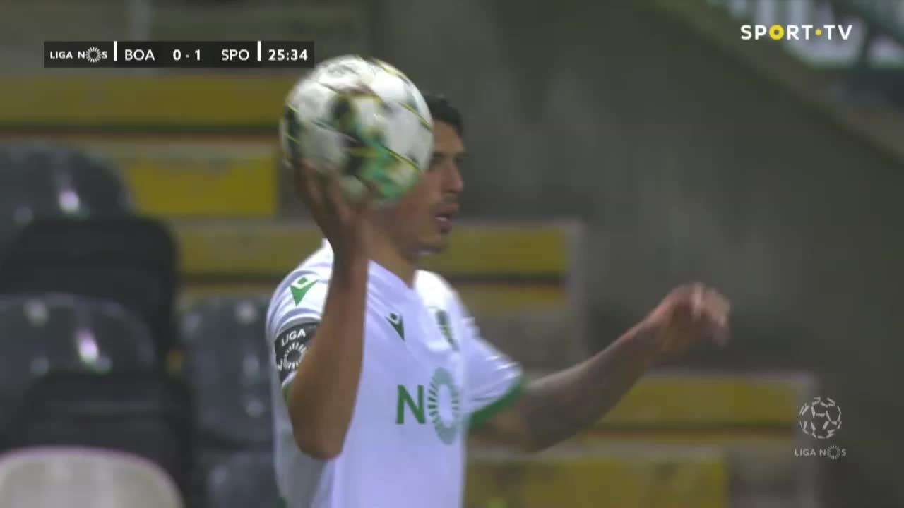 Sporting CP, Jogada, Nuno Mendes aos 26'