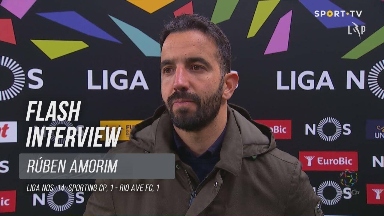 """Rúben Amorim: """"Só nos podemos queixar de nós próprios"""""""