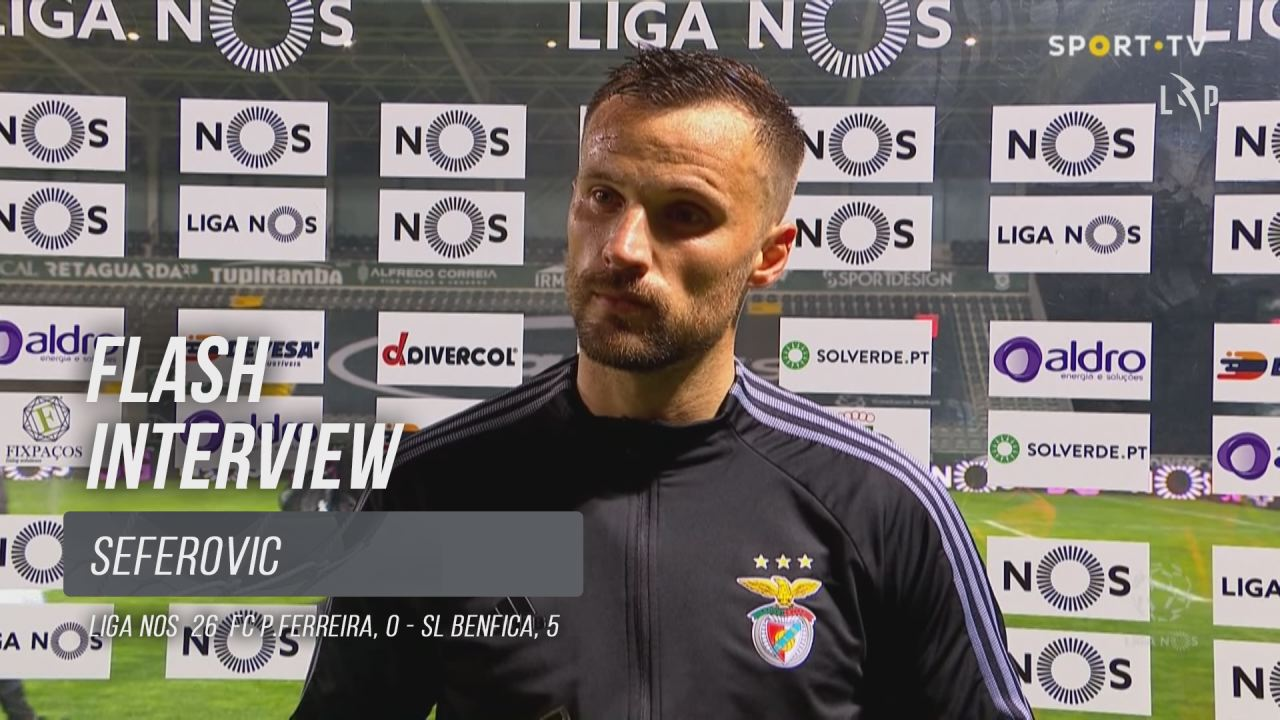 """Seferovic: """"Mérito da nossa equipa"""""""