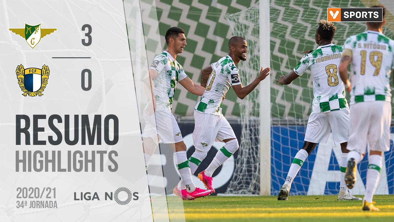 I Liga (34ªJ): Resumo Moreirense FC 3-0 FC Famalicão