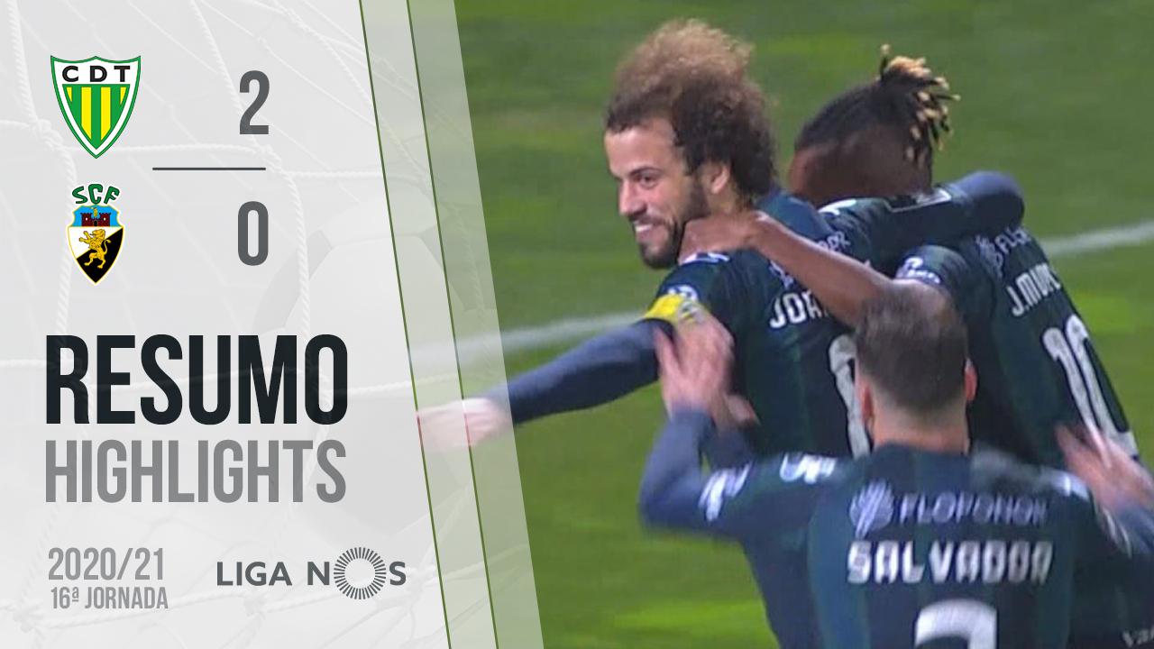 Liga NOS (16ªJ): Resumo CD Tondela 2-0 SC Farense