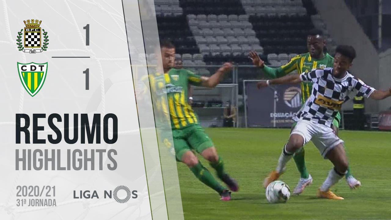 I Liga (31ªJ): Resumo Boavista FC 1-1 CD Tondela