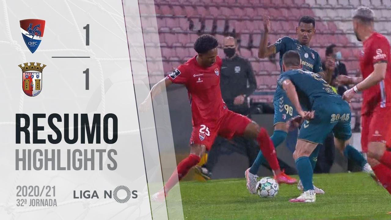 I Liga (32ªJ): Resumo Gil Vicente FC 1-1 SC Braga