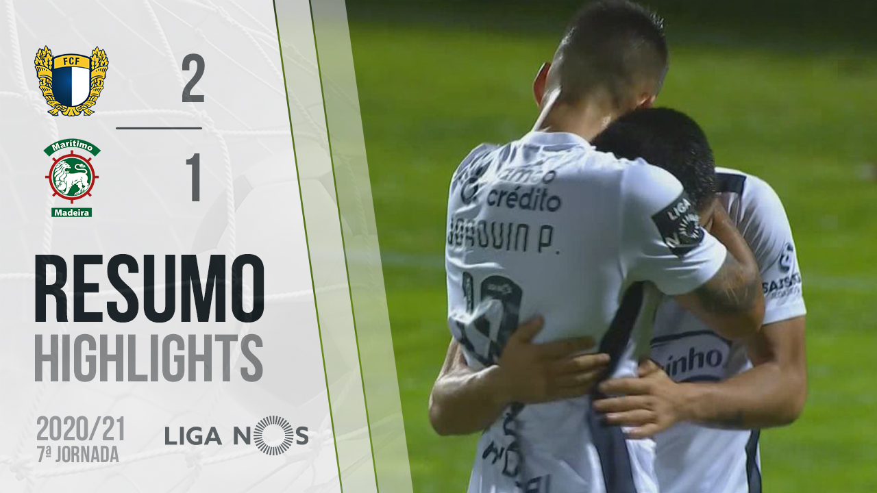 Liga NOS (7ªJ): Resumo FC Famalicão 2-1 Marítimo M.
