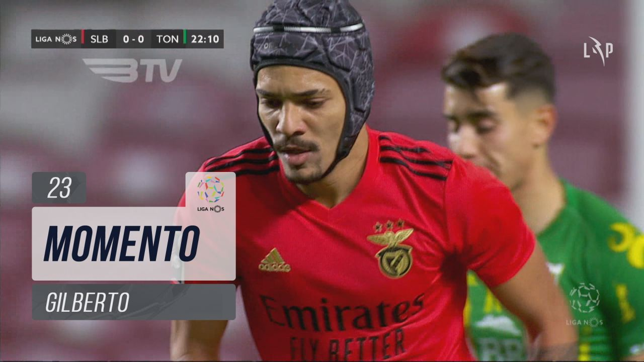 SL Benfica, Jogada, Gilberto aos 23'