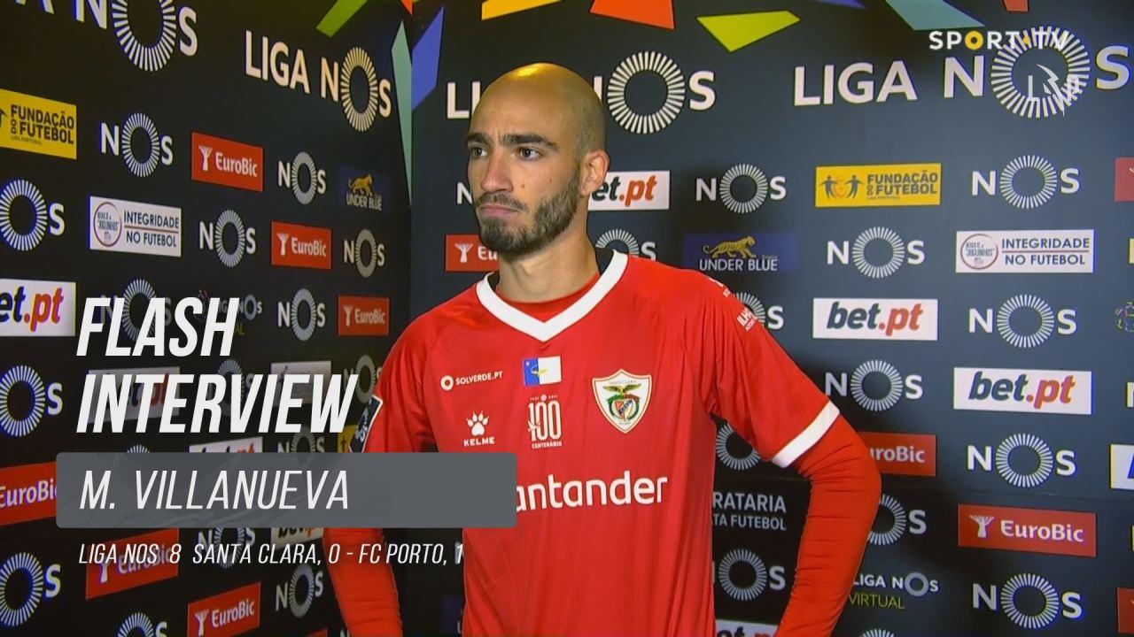 "Villanueva: ""Agradeço a oportunidade que o clube me deu"""