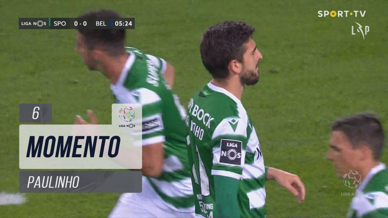 Sporting CP, Jogada, Paulinho aos 6'