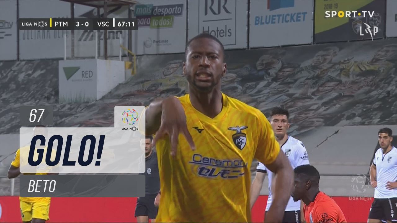 GOLO! Portimonense, Beto aos 67', Portimonense 3-0 Vitória SC