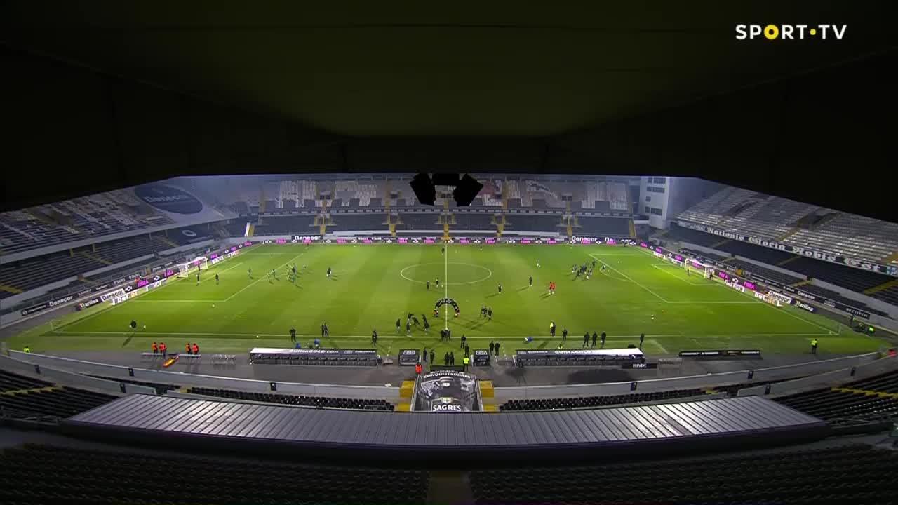 I Liga (14ªJ): Resumo Vitória SC - SC Farense