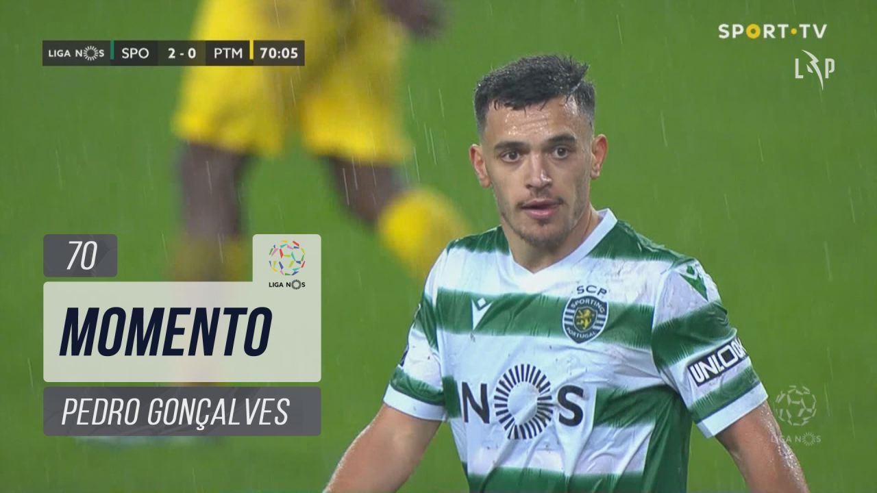 Sporting CP, Jogada, Pedro Gonçalves aos 70'
