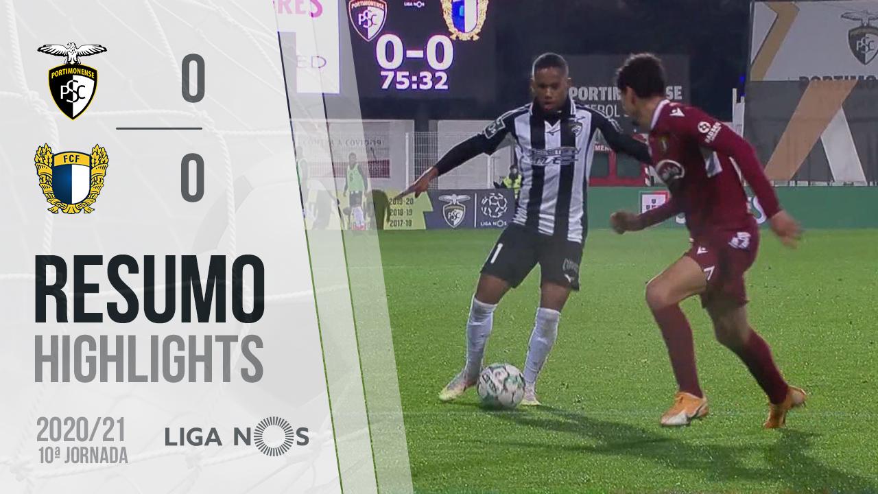 Liga NOS (10ªJ): Resumo Portimonense 0-0 FC Famalicão