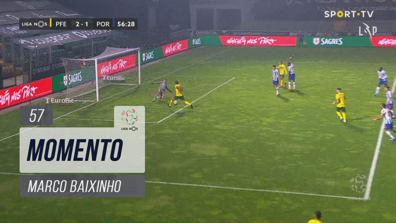 FC P.Ferreira, Jogada, Marco Baixinho aos 57'
