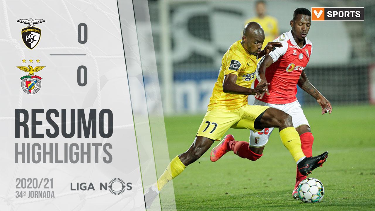 Liga NOS (34ªJ): Resumo Portimonense 0-0 SC Braga
