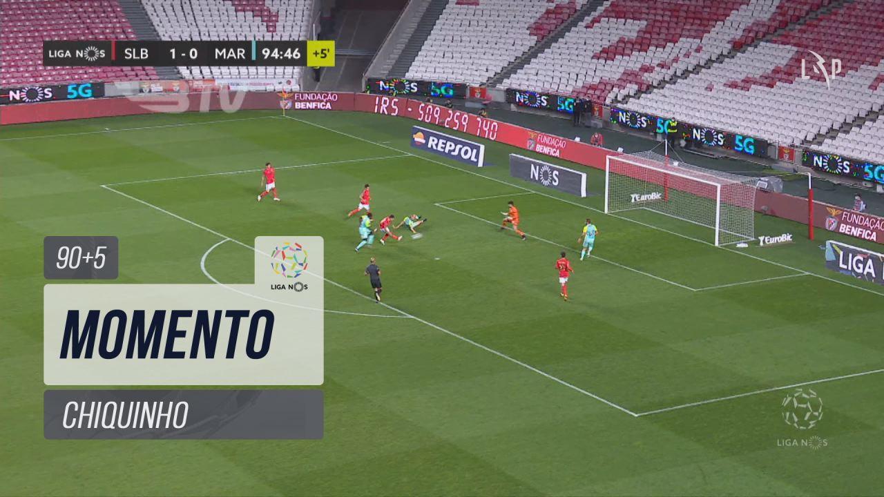 SL Benfica, Jogada, Chiquinho aos 90'+5'