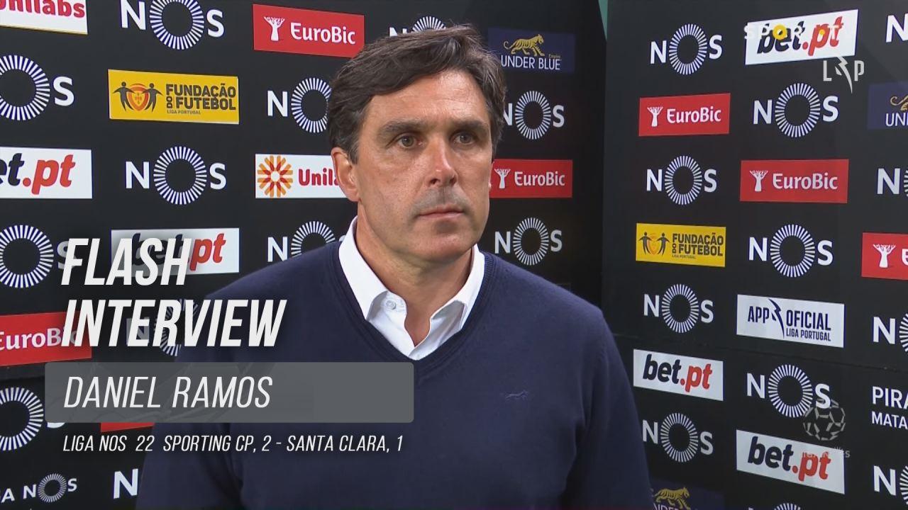 "Daniel Ramos: ""Parabéns à minha rapaziada"""