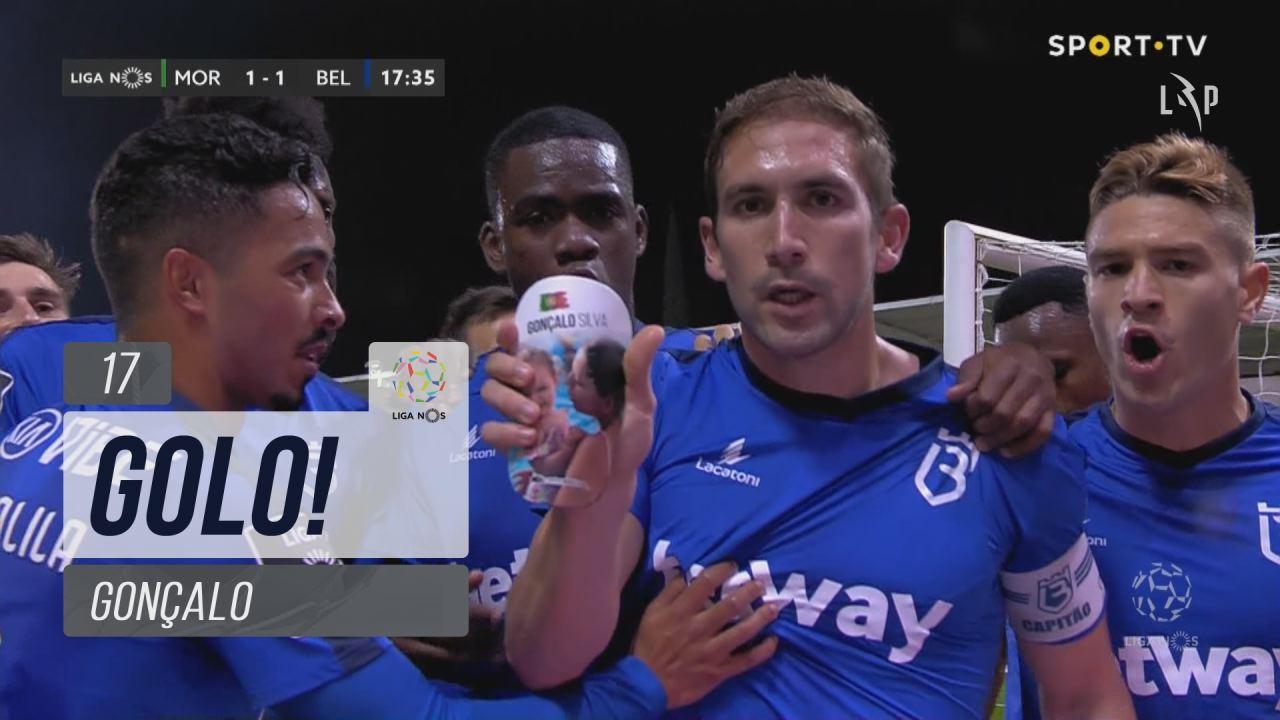 GOLO! Belenenses SAD, Gonçalo aos 17', Moreirense FC 1-1 Belenenses SAD