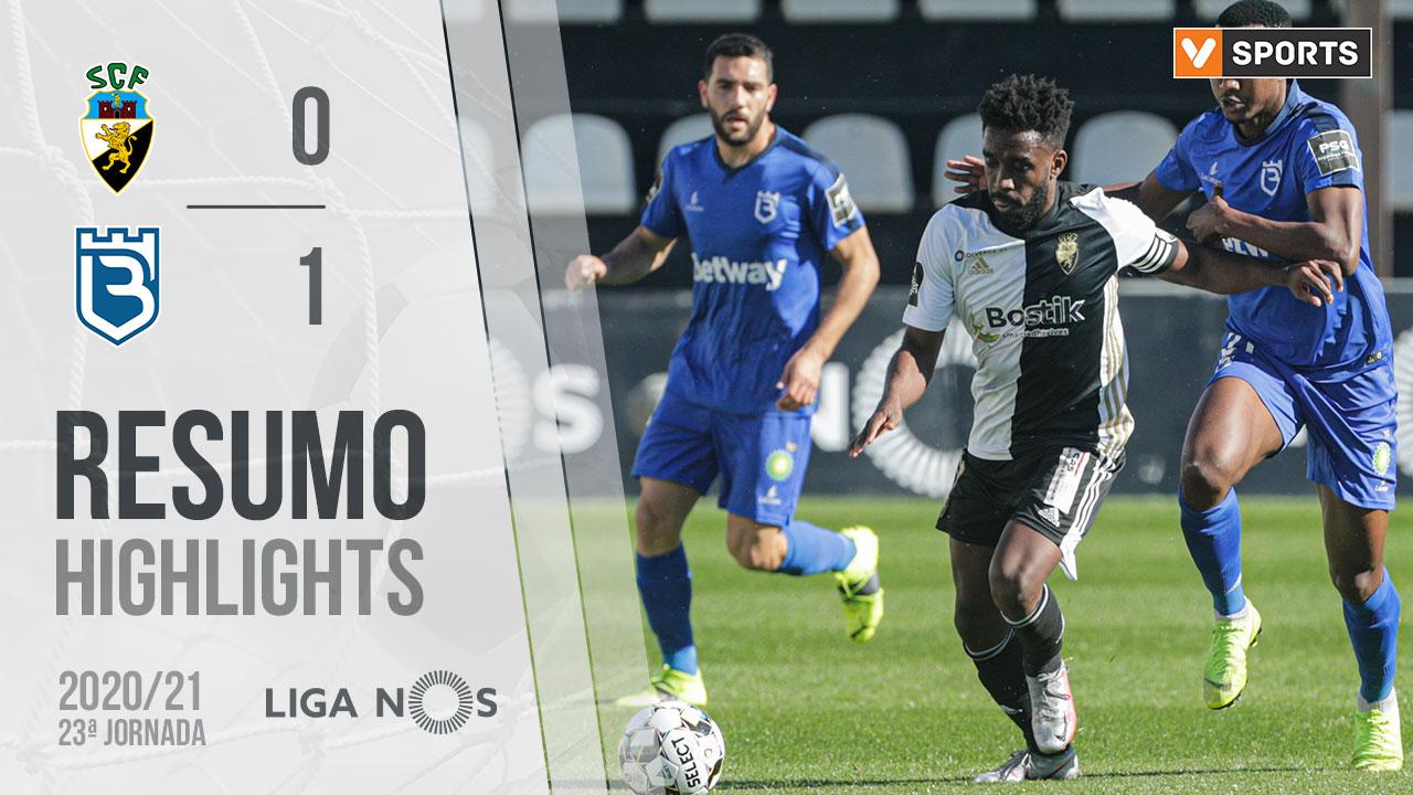 Liga NOS (23ªJ): Resumo SC Farense 0-1 Belenenses SAD