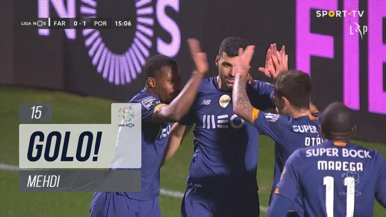GOLO! FC Porto, Mehdi aos 15', SC Farense 0-1 FC Porto