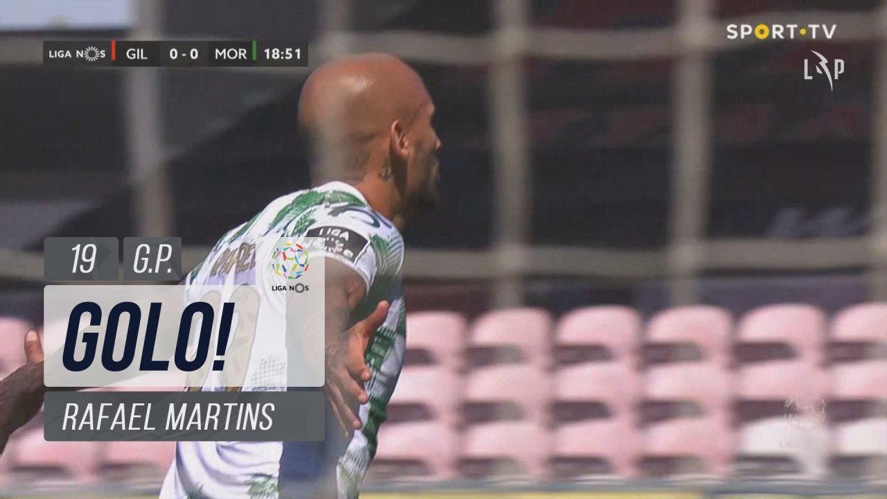 GOLO! Moreirense FC, Rafael Martins aos 19', Gil V...