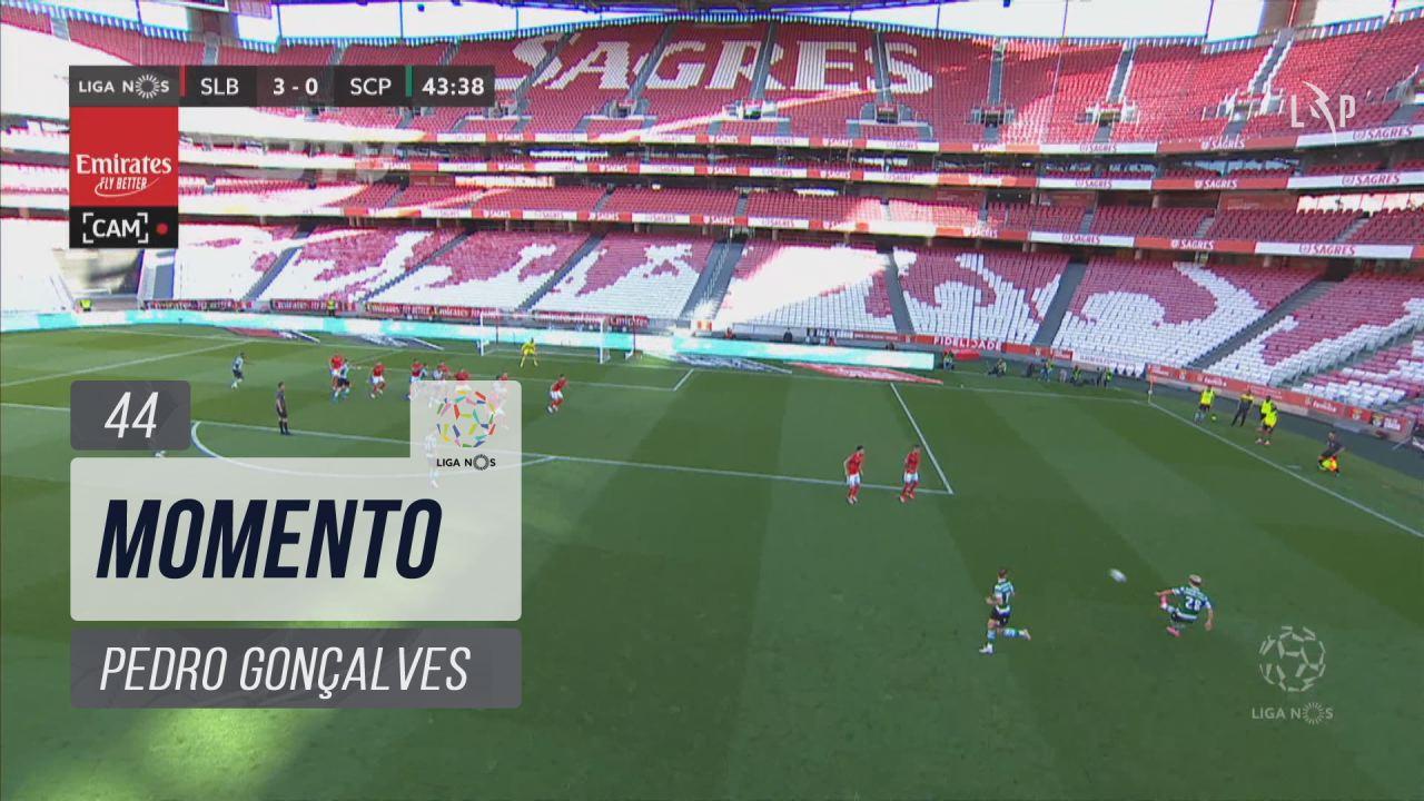 Sporting CP, Jogada, Pedro Gonçalves aos 44'