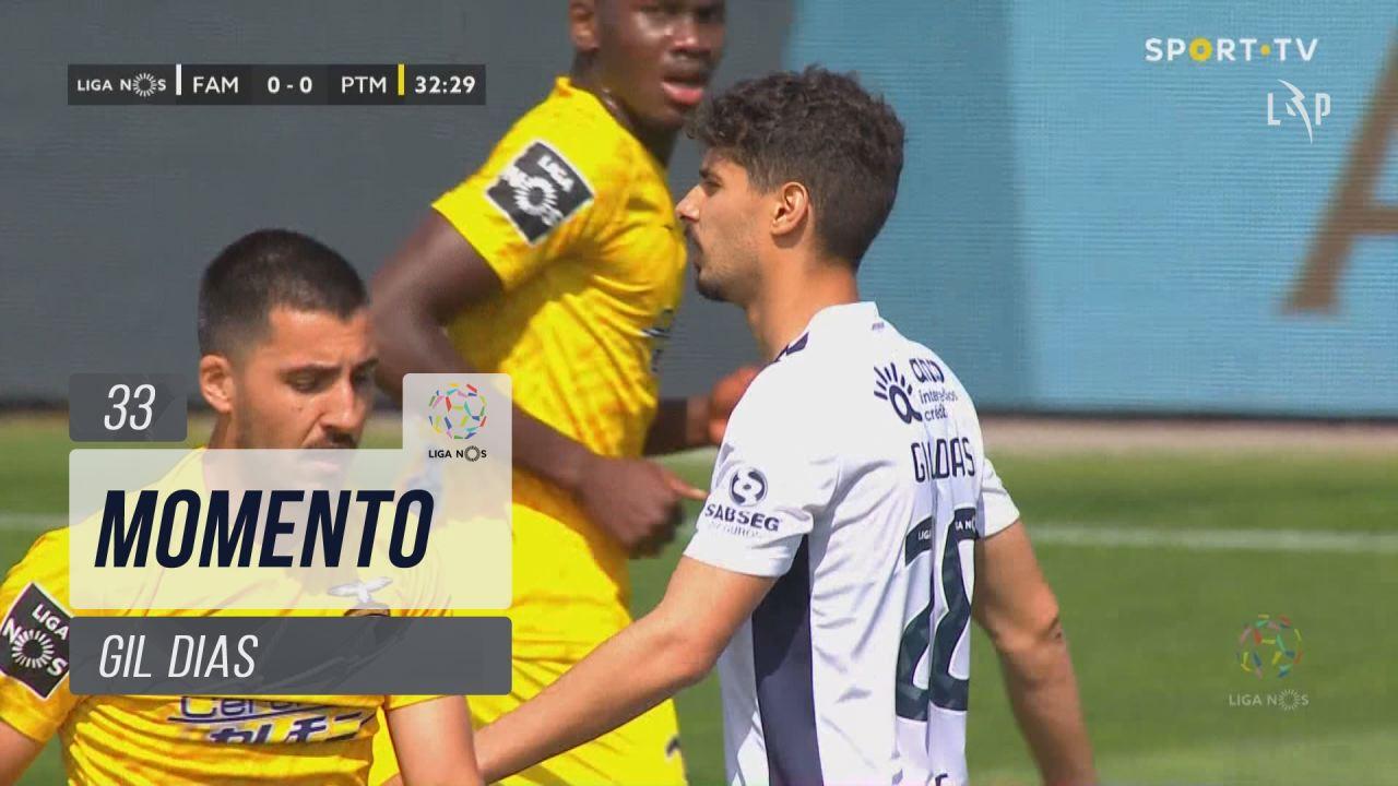 FC Famalicão, Jogada, Gil Dias aos 33'