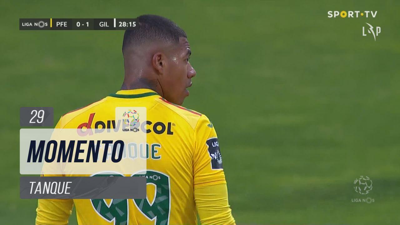 FC P.Ferreira, Jogada, Tanque aos 29'