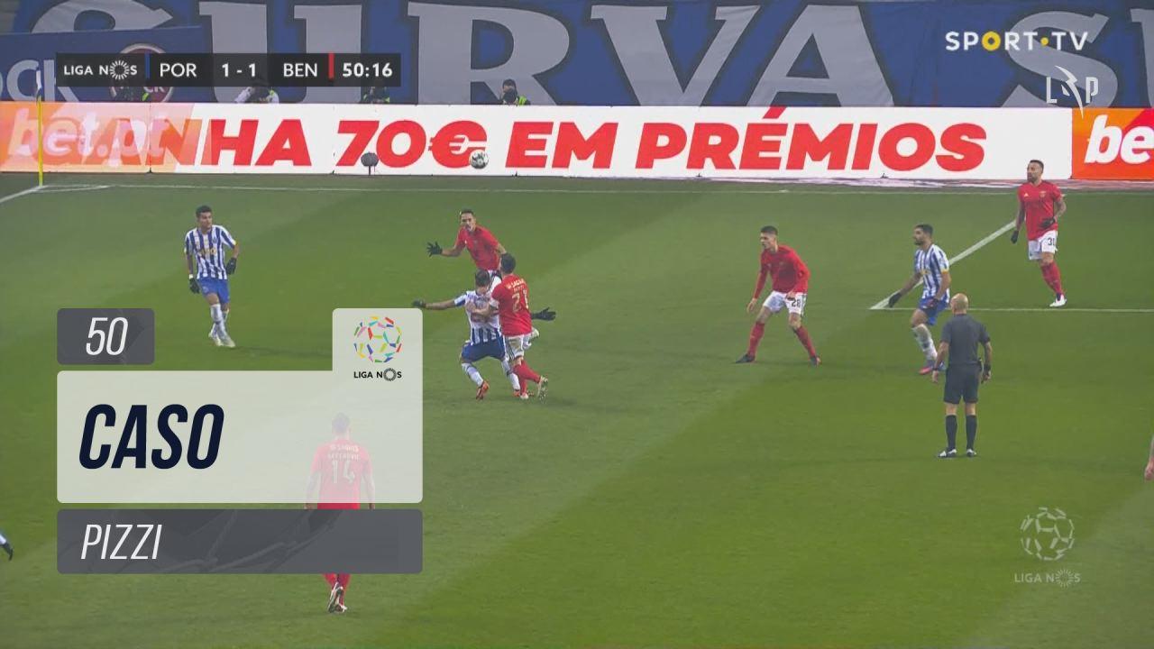 SL Benfica, Caso, Pizzi aos 50'